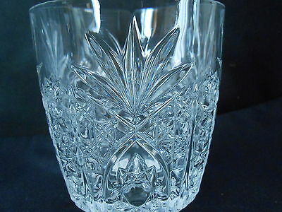 Cristal d'Arques Durand Double Old Fashioned Rock Tumbler Glasses - set of 4