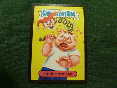 Garbage Pail Kids 2015 Series 1 Canvas Parallel - 21a JACK in the Box
