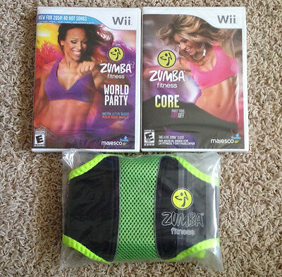 Zumba Fitness World Party & Core Nintendo Wii Games