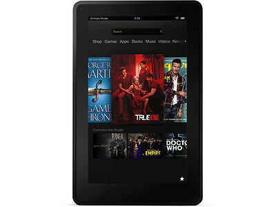 "Amazon Kindle Fire 1st Generation 8GB, 7"" Wi-Fi Tablet D01400 -  Black"