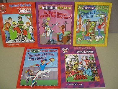 LOT 5 VALUES IN ACTION Technology Q&A Environment Non-Fiction Picture Books NICE