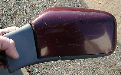 "93 94 95 96 97 98 99 00 VOLVO S70 V70 850 Drivers Side Power Mirror ""Ruby red"""