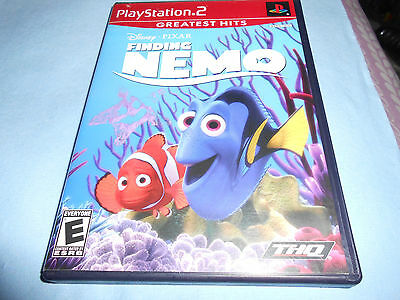 Finding Nemo (Sony PlayStation 2, 2003) Complete