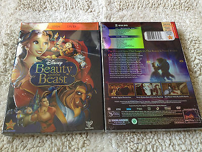 Beauty and the Beast (DVD, 2010, 2-Disc Set, Diamond Edition) New