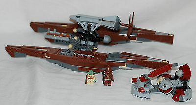 Lego Star Wars Episode III Wookiee Catamaran (7260) About 90% Complete W/Minifig