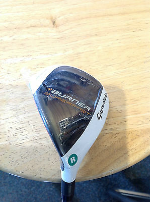 NEW TaylorMade Mens Burner Superfast Rescue 2.0 Hybrid #4 - 21* LH Reg Grph