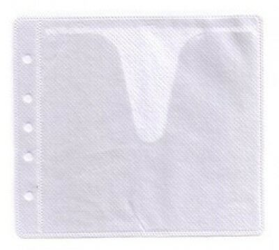 5000 CD Double-sided Refill Plastic Sleeve White