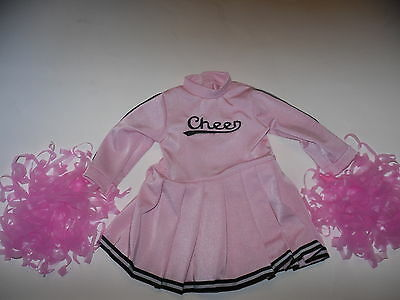 Cheerleader Doll Clothes Outfit #2  for 18 inch American Girl Doll