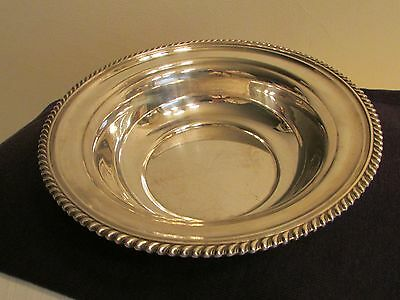 450 GRAMS Sterling Silver S.Kirk And Son Bowl  # 3109 HEAVY LARGE 9.5 INCHES