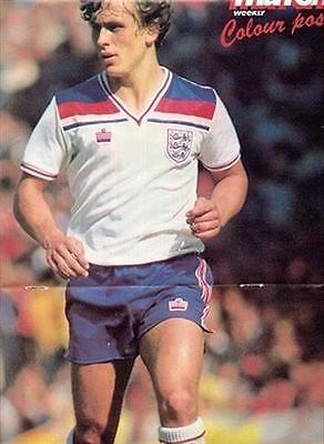 MATCH football magazine Crystal Palace KENNY SANSOM old collectable A3 picture
