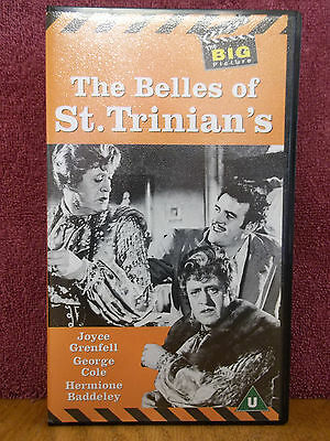 The Belles of St. Trinian's PAL FORMAT VHS Video Alastair Sim George Cole Comedy