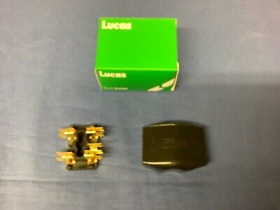 NEW 2 FUSE FUSE BOX AND LID MGA MGB MIDGET MINI TRIUMPH  606253A           f2a
