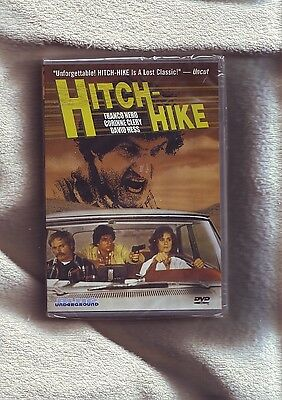 HITCH-HIKE (1978) R1 Blue Underground SEALED DVD - Franco Nero & David Hess