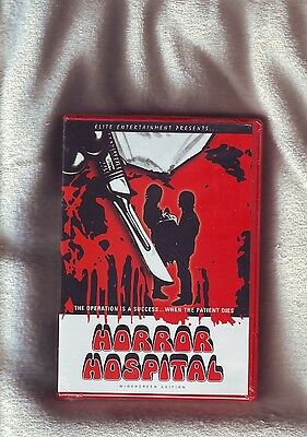 HORROR HOSPITAL (1973) R1 Elite DVD - NEW & SEALED - Michael Gough & Skip Martin