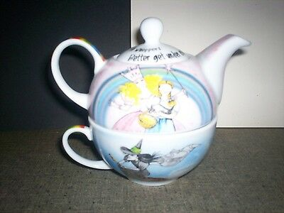 WIZARD of OZ TEA POT FOR ONE...  by PAUL CARDEW...    NICE  TREASURE...