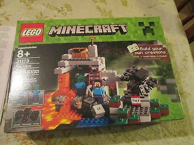 LEGO-MINECRAFT- THE CAVE JUST RELEASED! -   VERY HARD TO FIND! BRAND NEW!