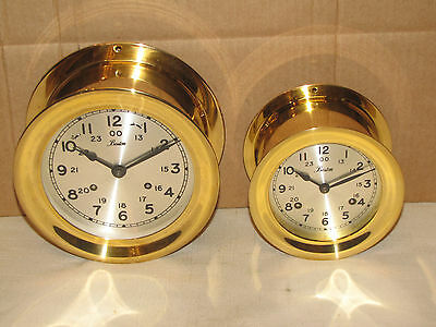 CHELSEA  VINTAGE SHIPS BELL CLOCK~6 INCH~BOSTON MODEL~CIRCA1978~11 JEWELS