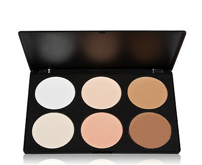 6 Colors Professional Salon Party Concealer Contour Face Cream Makeup Palette