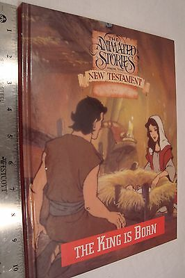 The Animated Stories from the New Testament Sara Clark King is Born 1992 Book
