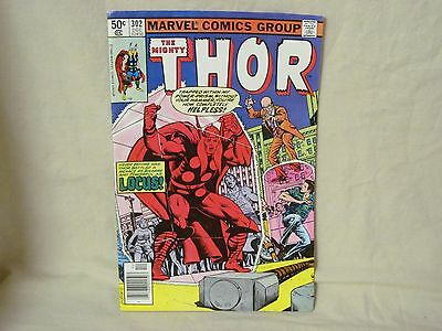 The Mighty Thor vol 1 no 302 Dec 1980 Comic Book see pics f/condition and grade