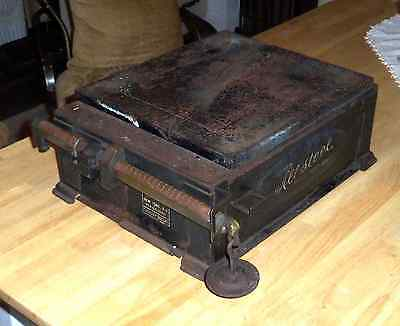 Antique Triner Allsteel Parcel Post US Postal Service Brass Beam Arm Scale 1940s