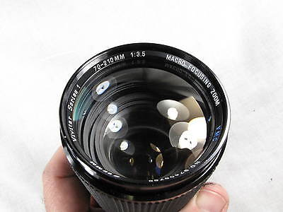 VIVITAR SERIES 1 70-210mm 3.5 VMC FITS KONICA EE MANUAL FOCUS EXCELLENT+++