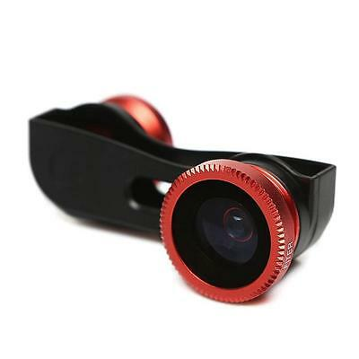 New 2-in-1 180° Fish Eye Fisheye + Wide Angle Lens for iPhone 5 5s USA