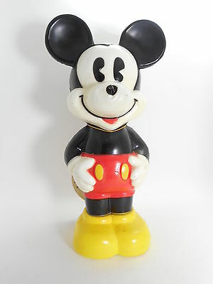 "Free Shipping Micky Mouse 8"" Vinyl Figure 1996 VTG Authentic Japan k#8220"