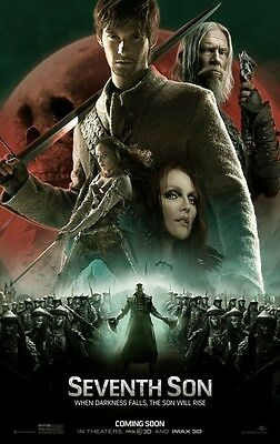 Seventh Son - original DS movie poster - 27x40 D/S Adv