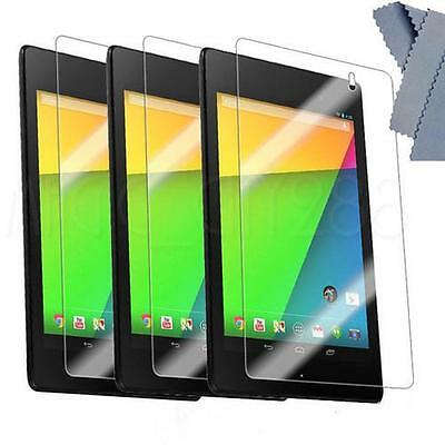 3pcs New Clear LCD Screen Protector Film for 2013 Asus Google Nexus 7 2 2nd 2G
