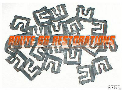 1965 1966 Ford Mustang rear window glass moulding clips FREE SHIPPING