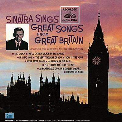 "Frank Sinatra - Great Songs From Great Britain (NEW 12"" VINYL LP)"
