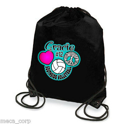 Love Peace Volleyball Personalized Sport Tote bag