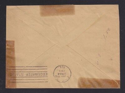 Usa 1919 Apo 701 Ymca Soldiers' Cover To Illinois Redirected