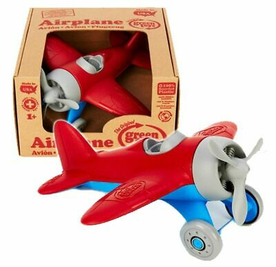 The Original Green Toys Airplane Eco Toy Made in USA Brand NEW