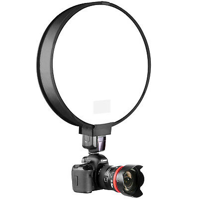 "Neewer 16"" Portable Mini Small Little Round Soft Box for Nikon Canon Speedlight"