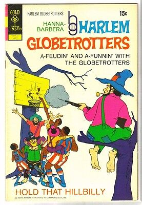 HARLEM GLOBETROTTERS #2 Hold Hillbilly! Hanna-Barbera Gold Key Comic Book ~ FN