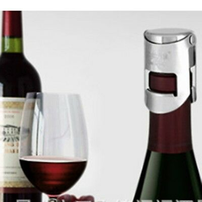 Creative Stainless Sparkling Red Wine Liquor Bottle Sealer Stopper Saver Cork Z