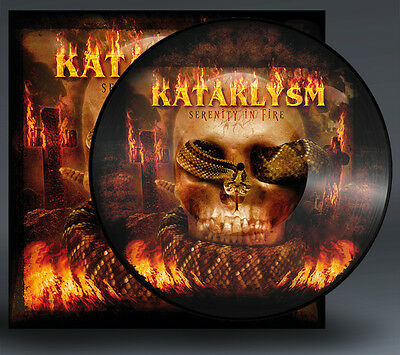 Kataklysm - serenity in fire, Pic-LP, Picture Vinyl, limited to 250 copies, NEW!