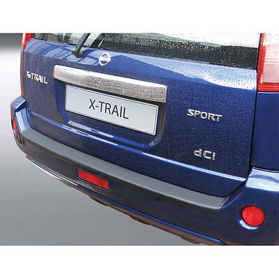 RGM Black Rear Bumper Guard For Nissan X-Trail 2003-2007