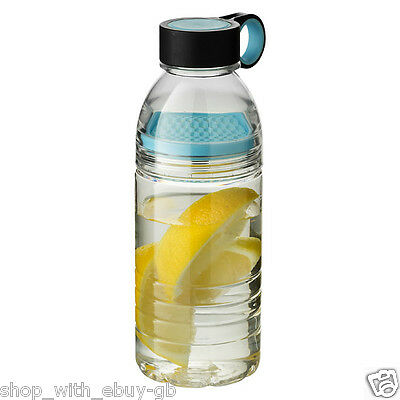 Fruit Infusion Gourde 600ml sans BPA Tritan Buvable Infusant Bouteille Sports