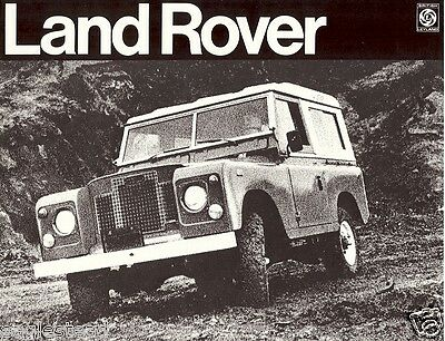 Truck Brochure - Land Rover - US market issue (TB914)