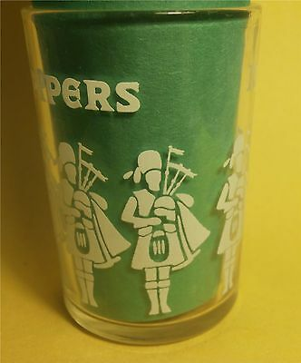Seagram's 100 Pipers Blended Scotch Whisky Shot Glass