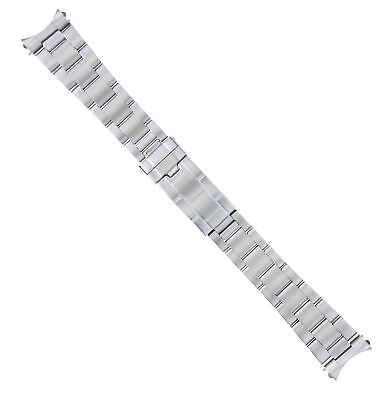 Oyster Watch Band Bracelet For Rolex Yachtmaster 20Mm Flip Lock Stainless Steel