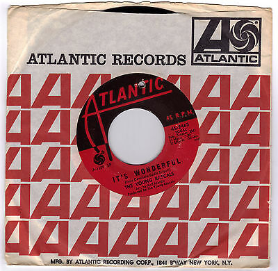 YOUNG RASCALS, THE  (It's Wonderful)  Atlantic 2463