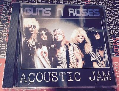 GUNS N' ROSES - Acoustic Jam - CD LIVE NO CDr   SIAE ITALIA - SIGILLATO - MINT