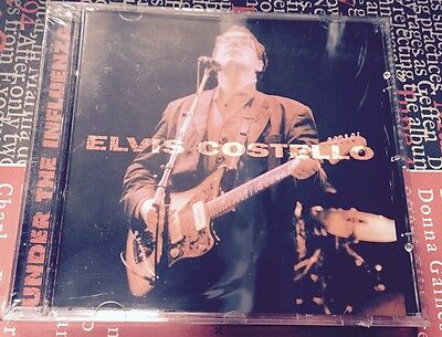 ELVIS COSTELLO - UNDER THE INFLUENZA - CD LIVE TOUR 94 - NO CDr RARO SEALED MINT