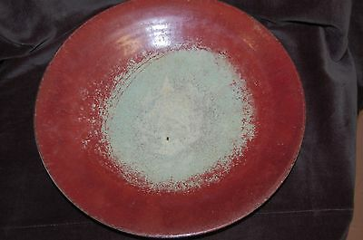 Large Vintage Ceramic Platter / Bowl by HERMAN ZAALBERG of Holland Circa 1920