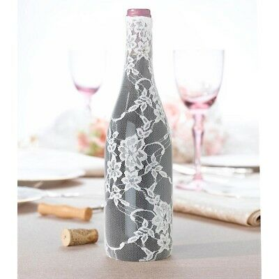 Lace Wine Bottle Cover Wedding Centrepiece Reception Decoration Supplies