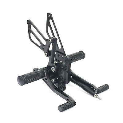 CNC Billet Rearsets Foot Pegs Rear Set for SUZUKI GSXR1000 GSX-R 1000 2005 2006